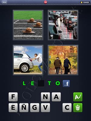 4 Fotos 1 Palabra Level 169 Respuesta