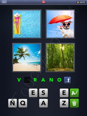 4 Fotos 1 Palabra Level 195 Respuesta
