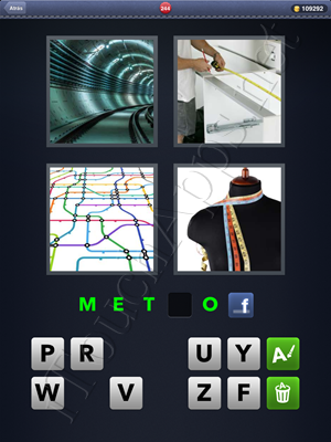 4 Fotos 1 Palabra Level 244 Respuesta