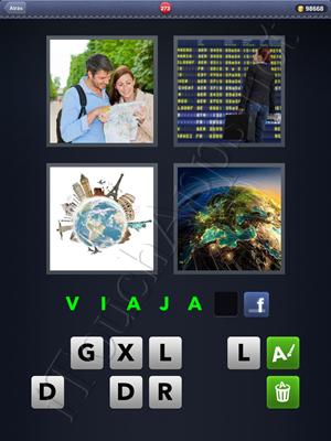 4 Fotos 1 Palabra Level 273 Respuesta