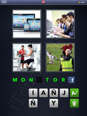 4 Fotos 1 Palabra Level 298 Respuesta