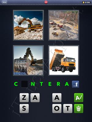 4 Fotos 1 Palabra Level 379 Respuesta
