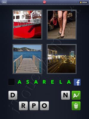 4 Fotos 1 Palabra Level 407 Respuesta