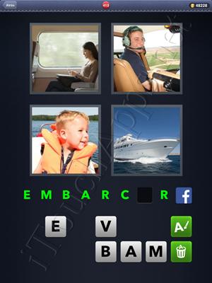 4 Fotos 1 Palabra Level 413 Respuesta