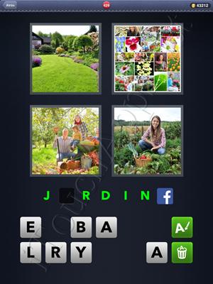 4 Fotos 1 Palabra Level 429 Respuesta