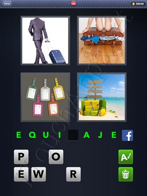 4 Fotos 1 Palabra Level 438 Respuesta