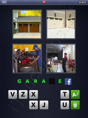 4 Fotos 1 Palabra Level 441 Respuesta