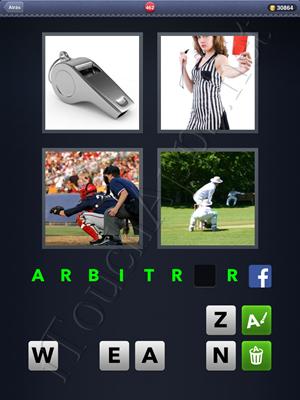 4 Fotos 1 Palabra Level 462 Respuesta
