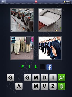 4 Fotos 1 Palabra Level 642 Respuesta