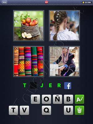 4 Fotos 1 Palabra Level 655 Respuesta
