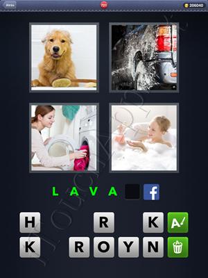 4 Fotos 1 Palabra Level 721 Respuesta