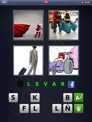 4 Fotos 1 Palabra Level 740 Respuesta