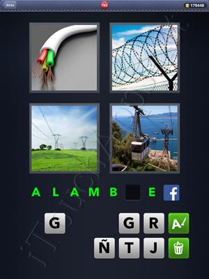 4 Fotos 1 Palabra Level 793 Respuesta