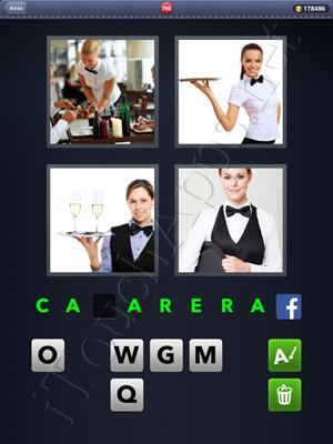 4 Fotos 1 Palabra Level 795 Respuesta
