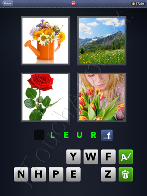 4 Images 1 Mot Level 811 Reponse