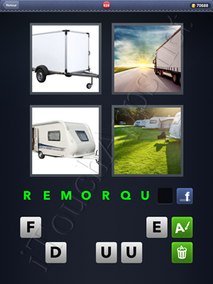 4 Images 1 Mot Level 828 Reponse