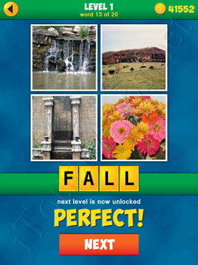 4 Pics 1 Word Puzzle - More Words - Level 1 Word 13 Solution
