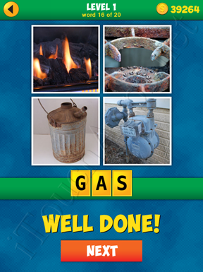 4 Pics 1 Word Puzzle - More Words - Level 1 Word 16 Solution