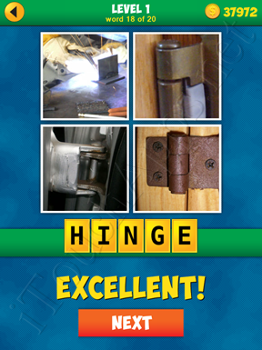 4 Pics 1 Word Puzzle - More Words - Level 1 Word 18 Solution