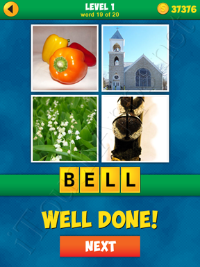 4 Pics 1 Word Puzzle - More Words - Level 1 Word 19 Solution