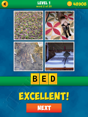 4 Pics 1 Word Puzzle - More Words - Level 1 Word 2 Solution