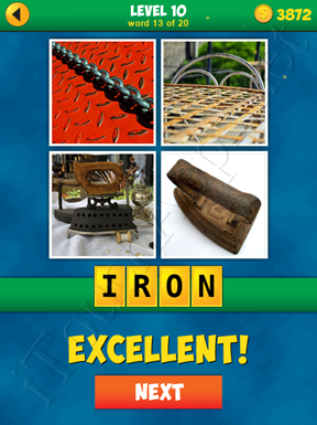 4 Pics 1 Word Puzzle - More Words - Level 10 Word 13 Solution