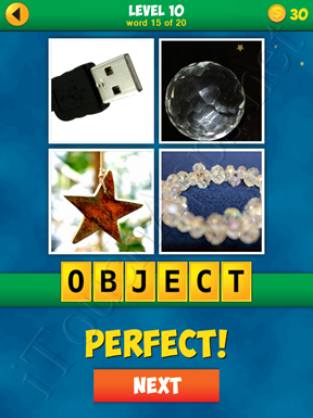 4 Pics 1 Word Puzzle - More Words - Level 10 Word 15 Solution