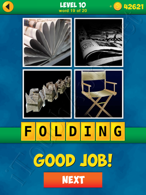 4 Pics 1 Word Puzzle - More Words - Level 10 Word 19 Solution