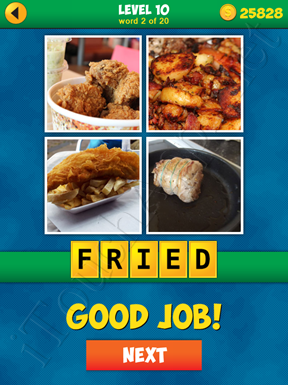 4 Pics 1 Word Puzzle - More Words - Level 10 Word 2 Solution