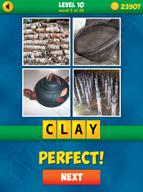 4 Pics 1 Word Puzzle - More Words - Level 10 Word 3 Solution