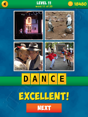 4 Pics 1 Word Puzzle - More Words - Level 11 Word 11 Solution