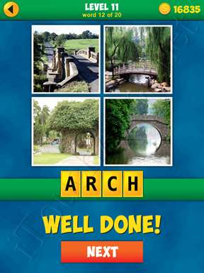 4 Pics 1 Word Puzzle - More Words - Level 11 Word 12 Solution
