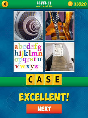 4 Pics 1 Word Puzzle - More Words - Level 11 Word 4 Solution