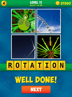 4 Pics 1 Word Puzzle - More Words - Level 11 Word 7 Solution