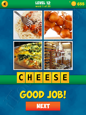 4 Pics 1 Word Puzzle - More Words - Level 12 Word 1 Solution