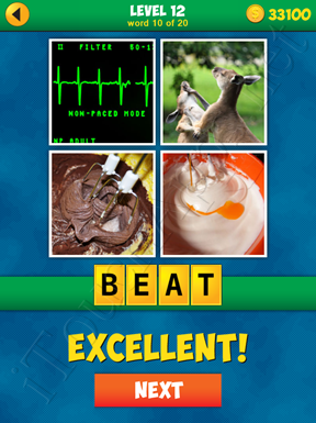 4 Pics 1 Word Puzzle - More Words - Level 12 Word 10 Solution