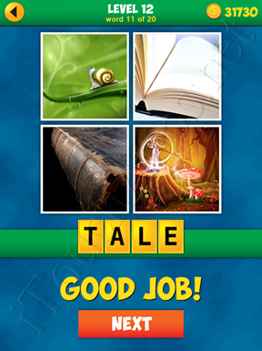 4 Pics 1 Word Puzzle - More Words - Level 12 Word 11 Solution