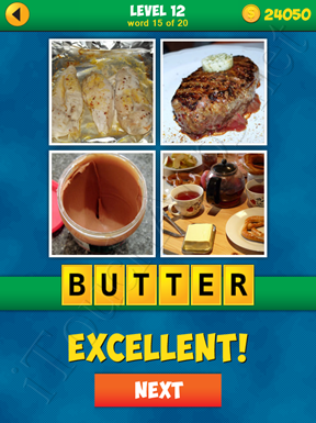 4 Pics 1 Word Puzzle - More Words - Level 12 Word 15 Solution