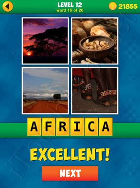 4 Pics 1 Word Puzzle - More Words - Level 12 Word 16 Solution