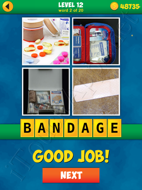 4 Pics 1 Word Puzzle - More Words - Level 12 Word 2 Solution