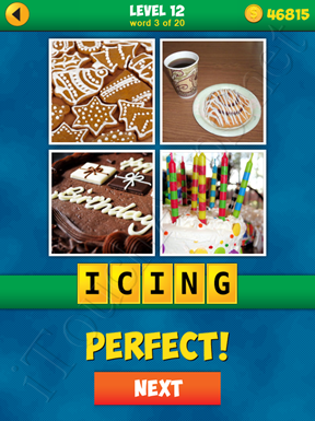 4 Pics 1 Word Puzzle - More Words - Level 12 Word 3 Solution