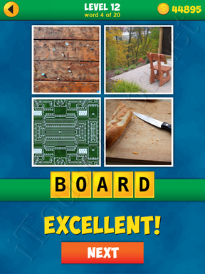 4 Pics 1 Word Puzzle - More Words - Level 12 Word 4 Solution