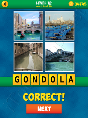 4 Pics 1 Word Puzzle - More Words - Level 12 Word 9 Solution