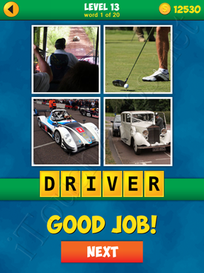 4 Pics 1 Word Puzzle - More Words - Level 13 Word 1 Solution