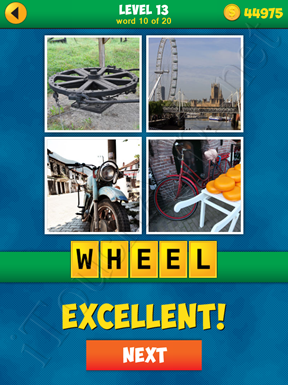 4 Pics 1 Word Puzzle - More Words - Level 13 Word 10 Solution