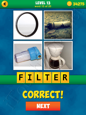 4 Pics 1 Word Puzzle - More Words - Level 13 Word 15 Solution