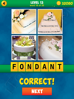 4 Pics 1 Word Puzzle - More Words - Level 13 Word 16 Solution