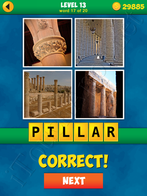 4 Pics 1 Word Puzzle - More Words - Level 13 Word 17 Solution