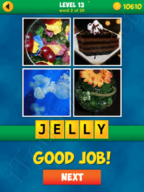 4 Pics 1 Word Puzzle - More Words - Level 13 Word 2 Solution