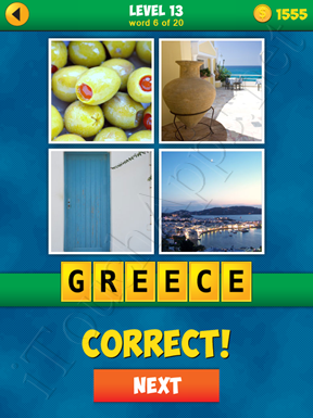4 Pics 1 Word Puzzle - More Words - Level 13 Word 6 Solution